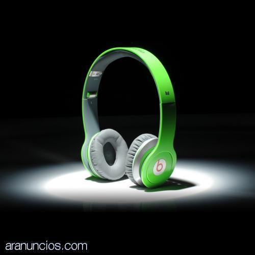 Monster Beats By Dr Dre Solo Headphones Green