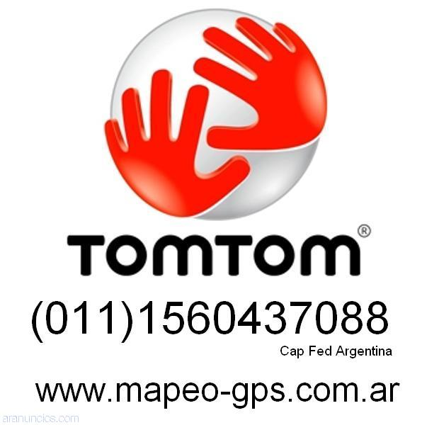 Mapas argentina gps wince tomtom