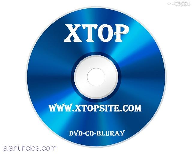 Venta de DVD Full,Bluray,PS2,Xbox360,pc,programas,series en xtopsite