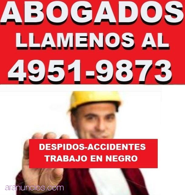 ABOGADOS LABORALES EN CAPITAL,DEFENSA DEL TRABAJADOR,DESPIDOS,ACCIDENTES