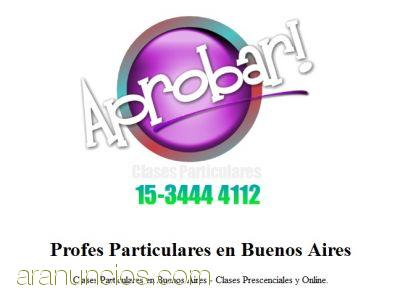 Clases Particulares Variable Compleja