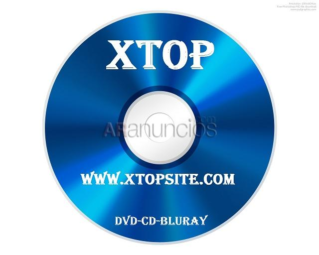 Venta de DVD Full,Bluray, PS2, Xbox360, pc, programas, series en xtopsite