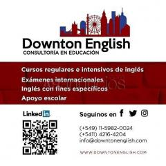 Clases de apoyo Downton English