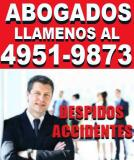 ABOGADOS LABORALES,ABOGADOS LABORALISTAS,DESPIDOS,ACCIDENTES,CAPITAL