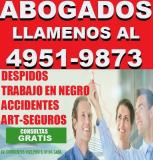 ABOGADOS LABORALES, SOLUCIONES LEGALES,CAPITAL,DESPIDOS,ACCIDENTES,ONCE