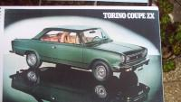 * MANUAL DE DESPIECE TORINO GR -ZX COUPE * 1979