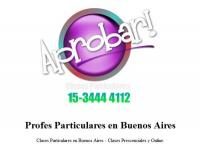 Clases Particulares Matematica I II III IV.