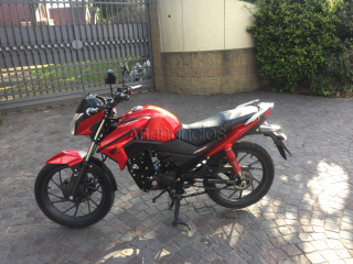 honda twister cb125 f 2018 impecable