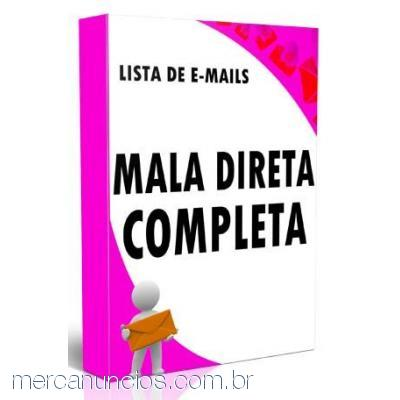 Lista De E Mail Mail Marketing Kit Mala Direta + Brindes, LISTA