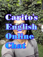Carito´s English Online Chat #1