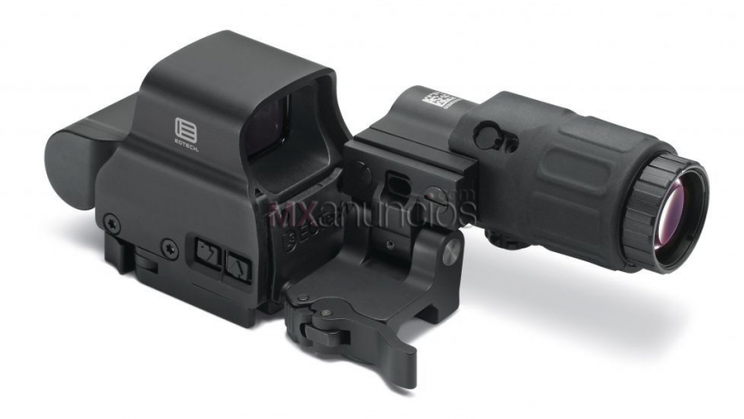 Eotech hhs-ii holographic hybrid sight ii w/ exps2-2 red dot sight and #1