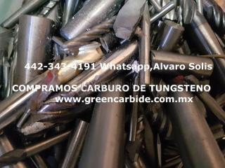 Compra scrap carbide de tungsteno en tijuana recoleccion