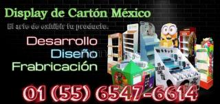 Display de carton Mexico