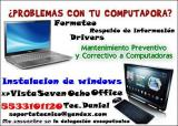 Mantenimiento de Compus y laptops