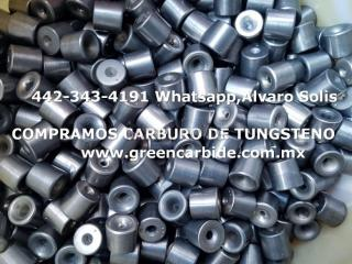 Compramos carbie de tungsteno en ensenada