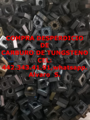 Scrap de carburo de tungsteno en guaymas