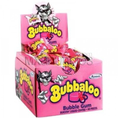 Empaca desde casa chicles bubbaloo