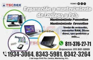 Reparacion y mantenimiento a laptops, desktops y all in one
