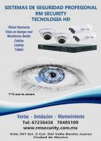 RM SECURITY sistema de cctv