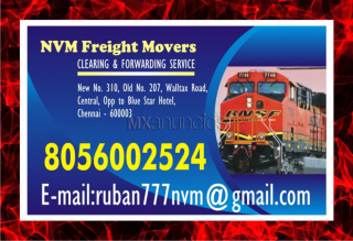 Nvm | chennai rly. clearing agency | freight movers | 891