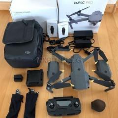 Dji phantom 4 pro + 4 battaries