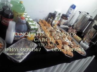 Servicio de cafe. coffee break. banquetes a domicilio