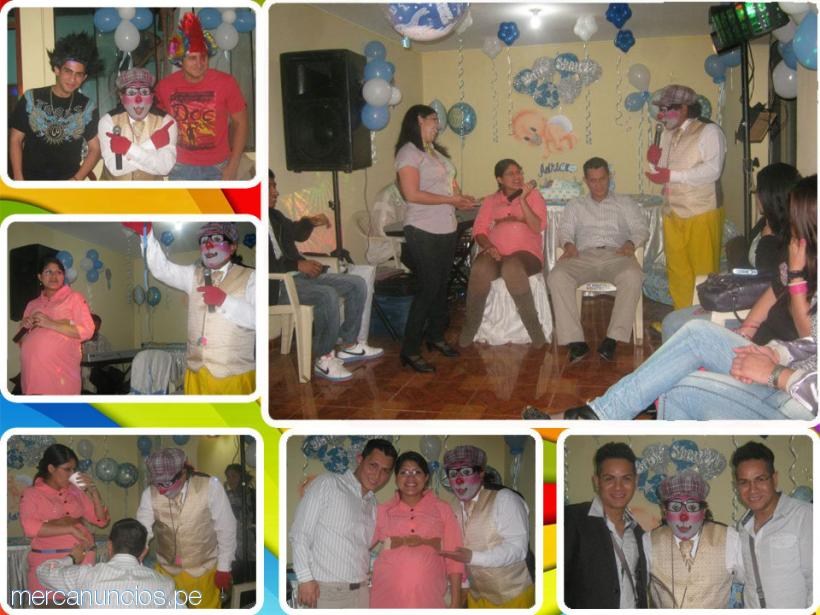 shows de baby shower en lima, payasos para baby shower, sonido y luces #1