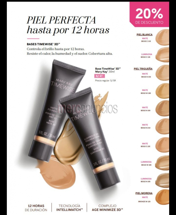Mary kay : maquillajes perfectos #1