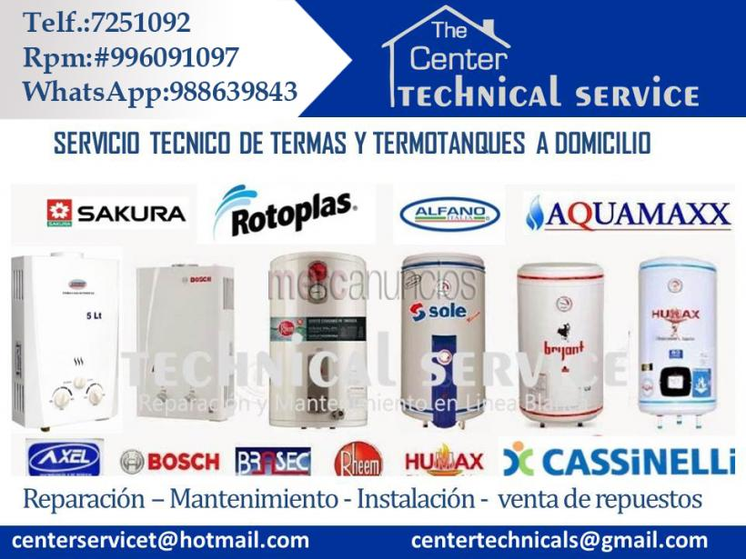 Center technical service ◄♫♣servicio tecnico termas bryant #1