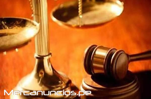 SE OFRECE ASESORIA LEGAL LIMA