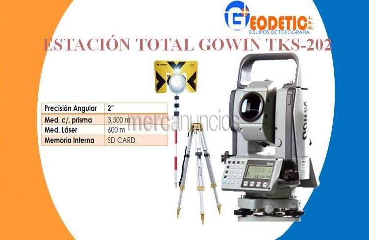 Estación total gowin tks-202