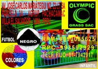 Pasto Artificial Futbol Olympic Grass Sac