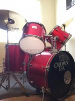 Batería CROWN USA con platillos Solar by Sabian