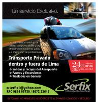 Transporte Privado las 24 hrs