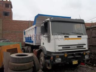 volquete tortoon iveco año 98