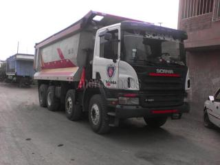 Volquete scania tortoon ciempies