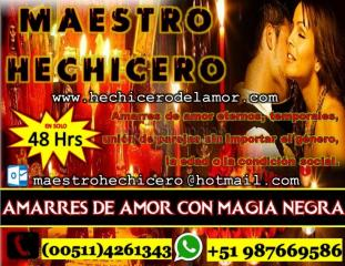 Maestro hechicero te une a ese amor imposible