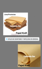 Papel Kraft por mayor