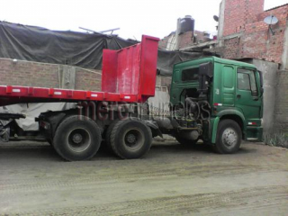 Tracto tortoon sinotruk