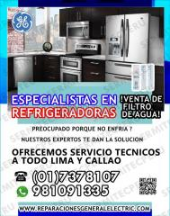 ¡Total Garantía! Reparaciones General Electric (Refrigeradoras)