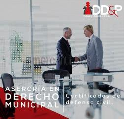 Certificado de defensa civil