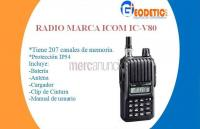 Radio icom ic-v80