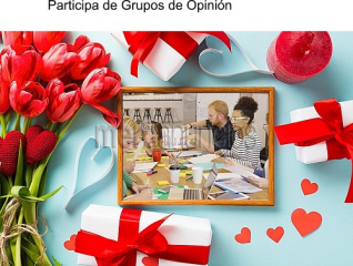 Programa de opinion y recibes un regalo