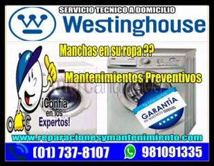 Profesionales white westinghouse